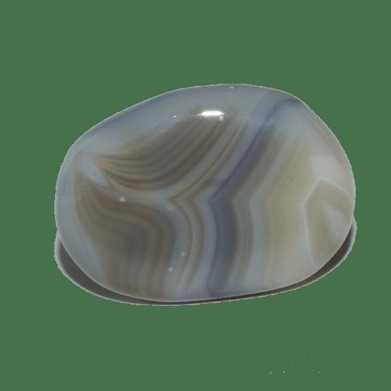 Agate du Botwana Pierre Roulée