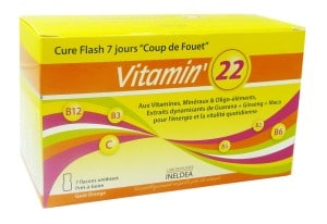 Vitamin 22 Cure Flash