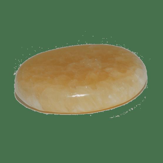 Calcite Orange Pierre Plate