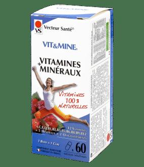 Vit&Mine vitamines minéraux