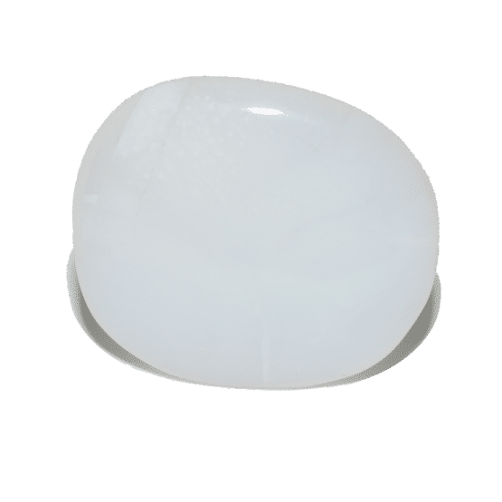 Opale Blanche Pierre Plate