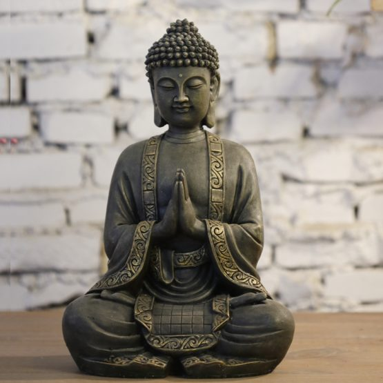 Grande Statue Bouddha Méditation