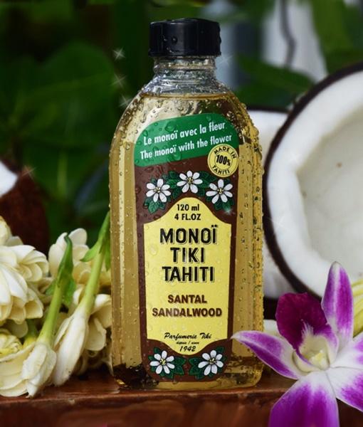 Monoi de Tahiti Tiki Santal 120ml