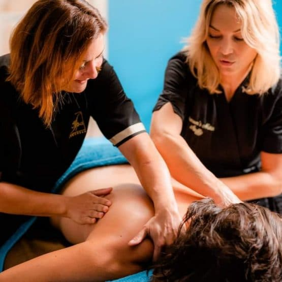 Massage à 4 Mains 60mm