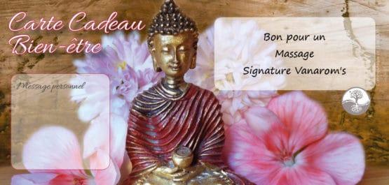 Bon cadeau massage Signature