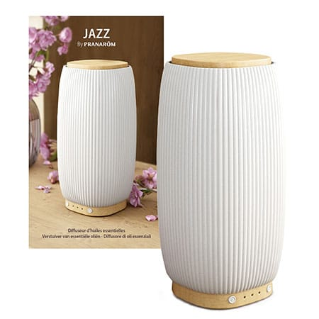 Pranarôm DiffuseurJazz – céramique/bambou