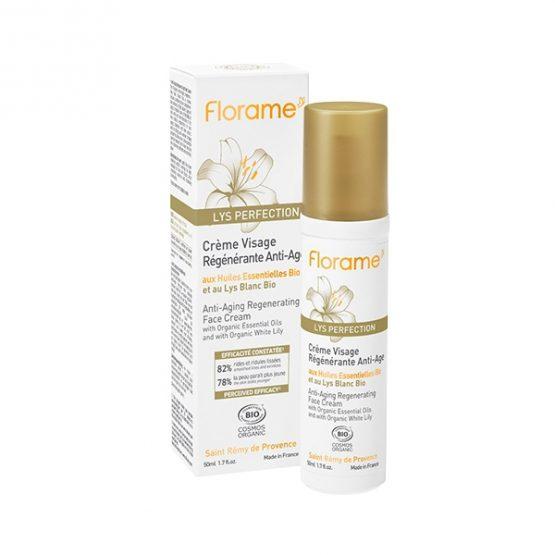 Florame Crème Visage Régénérante Anti-Âge LYS PERFECTION