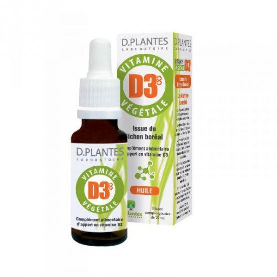 Vitamine D3 Végétale 400UI – Flacon de 20mL