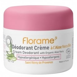 Déodorant crème hypoallergénique Bio – 50 g