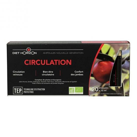Circulation 20 ampoules DIET HORIZON