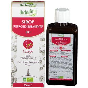 Herbalgem Sirop refroidissement Gorge 150ml