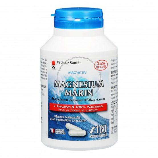 Magnesium Marin Mag'Activ – 180 gélules