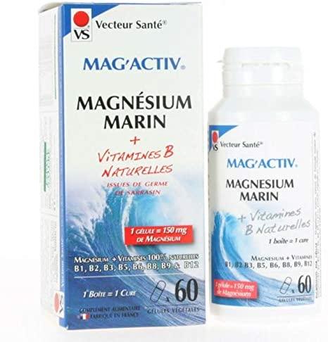 Magnesium Marin Mag'Activ – 60 gélules