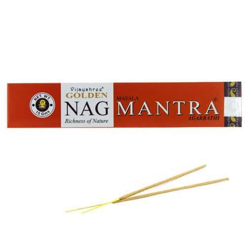 L'encens Golden Nag Mantra