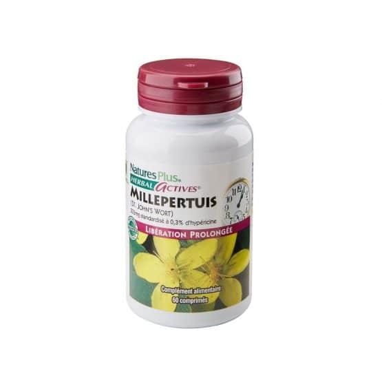 Millepertuis 233 mg Herbal Actives – 60 comprimés