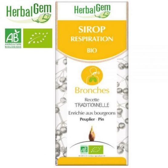 Herbalgem Sirop pour la respiration Bio – 250 ml