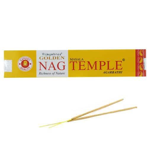 L'encens Golden Nag Temple
