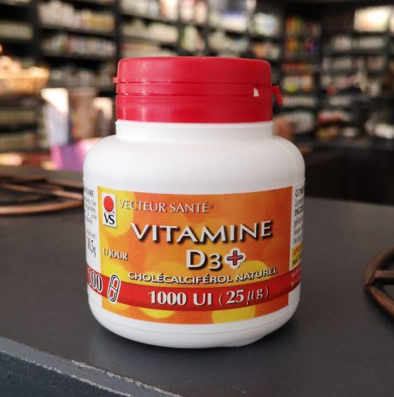 VITAMINE D3+1000 UI x100capsules
