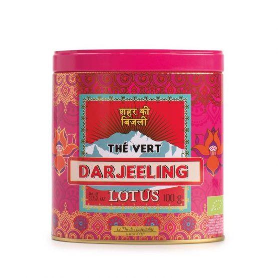 Thé vert bio Darjeeling Saveur lotus Terre D'oc