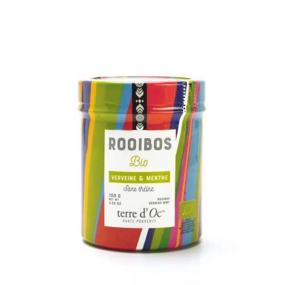 Rooibos bio Saveur Verveine Menthe Terre d'Oc