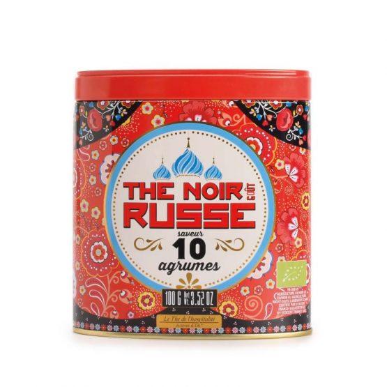 Thé noir bio à la Russe Saveur 10 agrumes Terre D'oc 100gr