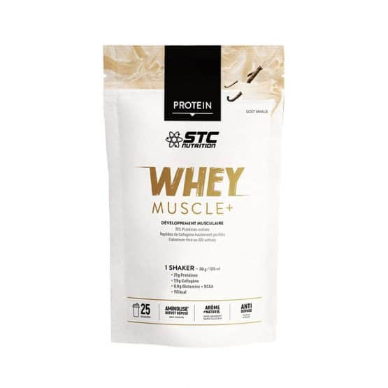 STC WHEY MUSCLE+ Vanille 750G