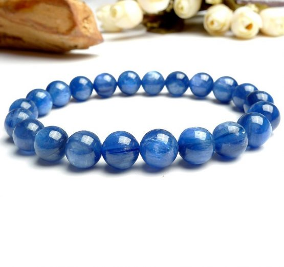 Bracelet Cyanite 8mm
