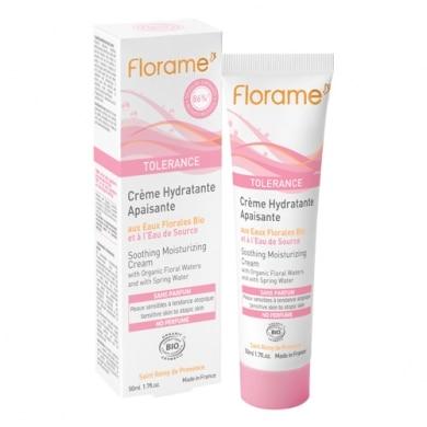 Florame  Tolérance – crème hydratante apaisante – 50ml