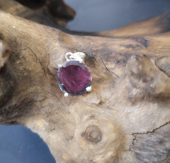 Pendentif Tourmaline Rose Gemme et Argent 925 réf 3302 (Copie)