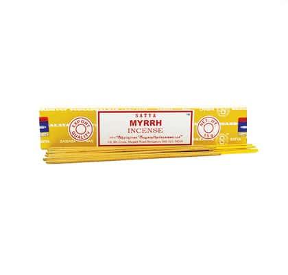 L'encens Myrrh Satya bâton