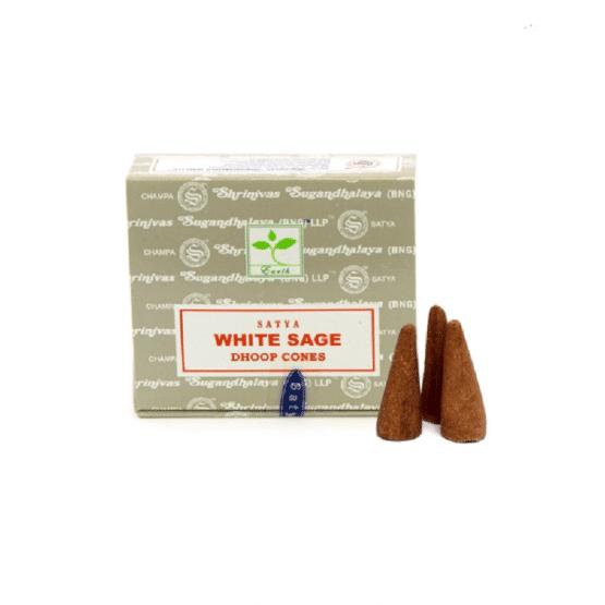Encens White Sage Cône