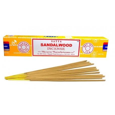 L'encens Satya SANDALWOOD bâtonnets