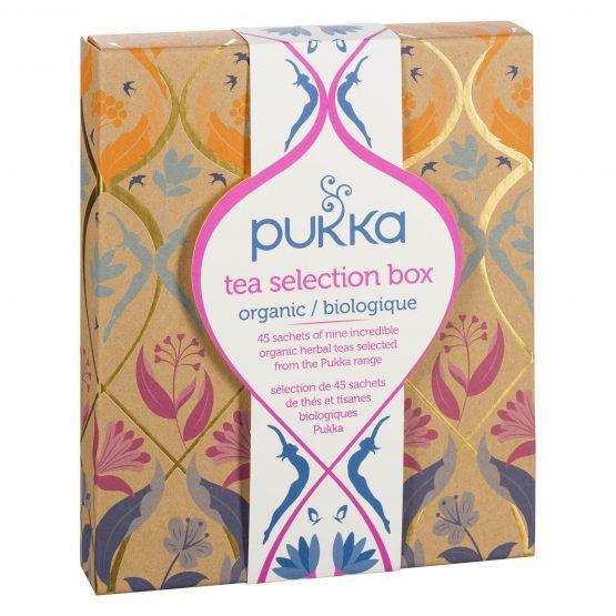 Pukka – Coffret de 45 sachets Thés et infusion Bio