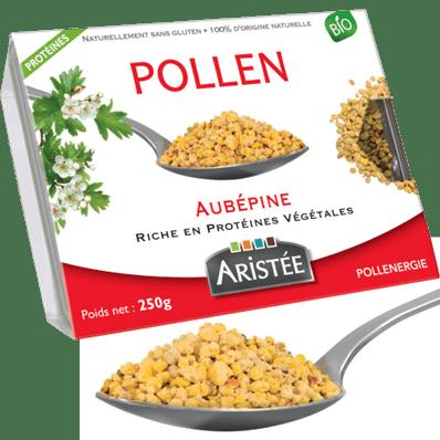 POLLEN FRAIS D'AUBEPINE 250GR