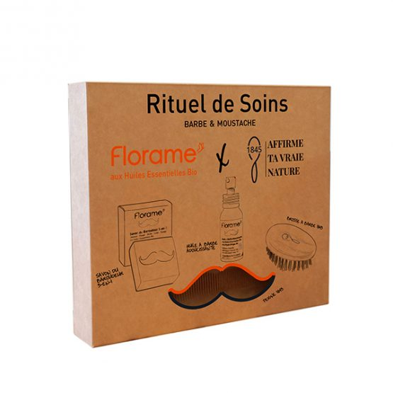 Coffret rituel de soins homme barbe et moustache
