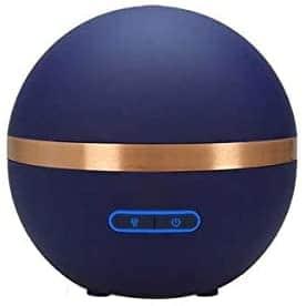 FLORAME Diffuseur ultrasonique d'huiles essentielles bleu nuit