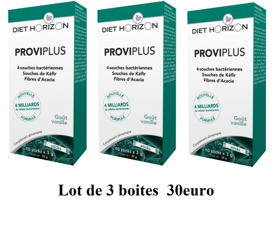 PROVIPLUS 10 STICKS lot de 3 boites