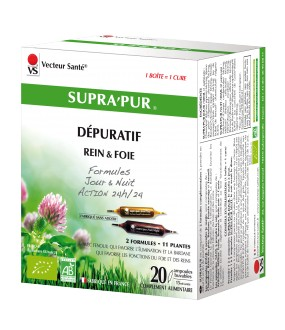 SUPRA'PUR – 20 AMPOULES X 15 ML