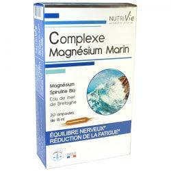 Complexe Magnésium Marin 20 ampoules Nutrivie