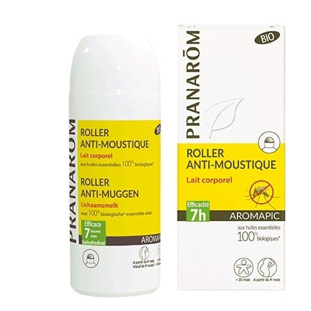 ROLL ON CORPS ANTI-MOUSTIQUE – AROMAPIC – 75ML – PRANARÔM