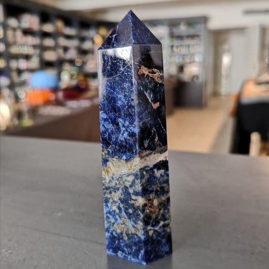 Sodalite -Pointe3- 9.5cm